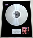 IAN DURY & THE BLOCKHEADS - JUKEBOX DURY PLATINUM LP PRESENTATION DISC